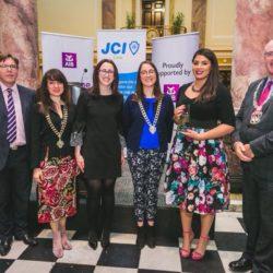 Winning Humanitarian of the Year 2018